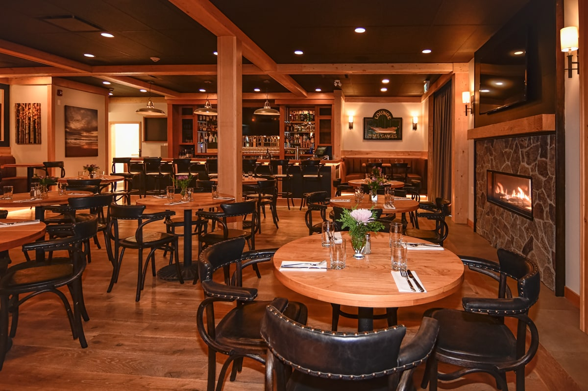 Restaurant on Salt Spring Island